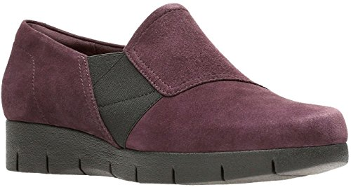 genuine online CLARKS Women's Daelyn Monarch Slip On Aubergine high quality buy online under $60 sale online 2015 sale online free shipping low shipping rzHjZD