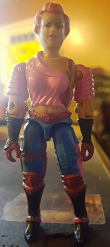 """Used, Vintage 1986 G.I. JOE 3 3/4"""" Action Figure Zarana for sale  Delivered anywhere in USA"""