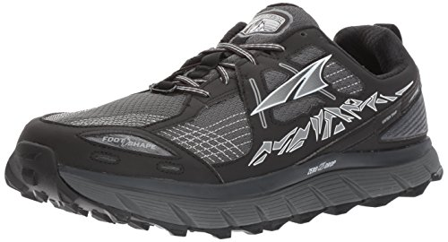 Altra Men's Lone Peak 3.5 Running Shoe, Black, 8.5 D US