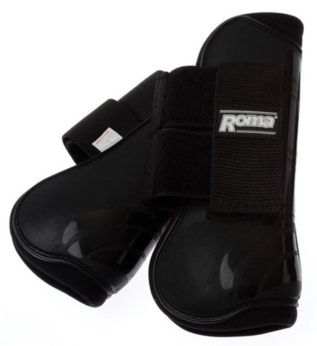 roma-competitor-open-front-fetlock-boot-set-black
