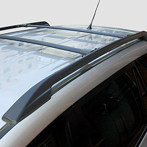 SCITOO fit for 2010-2019 Toyota 4Runner 4-Door Aluminum Alloy Roof Top Cross Bar Set Rock Rack Rail