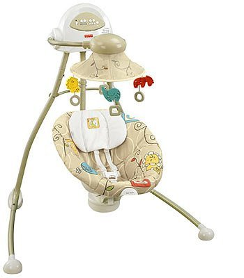 Fisher-Price Cradle Swing - Animal Krackers by Fisher-Price