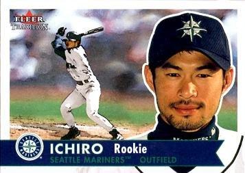 Amazon.com: 2001 Fleer Tradition Baseball #452 Ichiro Suzuki Rookie