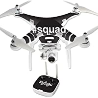 Skin For DJI Phantom 3 Professional – Squad | MightySkins Protective, Durable, and Unique Vinyl Decal wrap cover | Easy To Apply, Remove, and Change Styles | Made in the USA