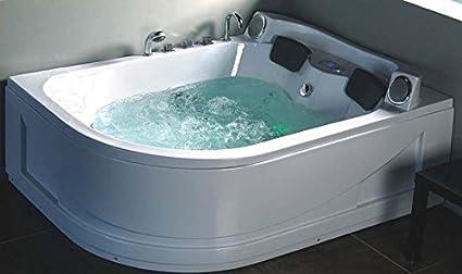 Vasca Da Bagno Whirlpool : Vasca da bagno idromassaggio cm full optional pompa