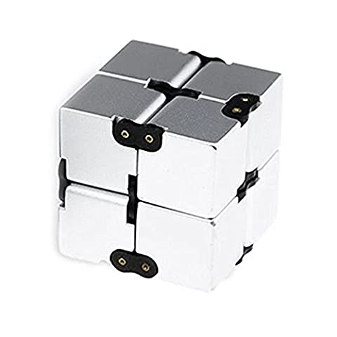 Szsmart fidget cub infinite cube ingenious varying every day carry commendation killing time perfect pressure reduction spinner toys for ADD, ADHD, Anxiety, and Autism adult and children - Platinum Mobile Square
