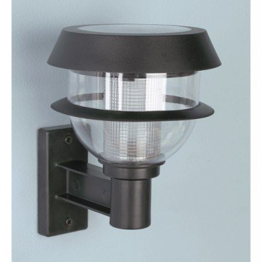 Two Tier Bright LED Solar Light with Ground or Wall Mounting Options
