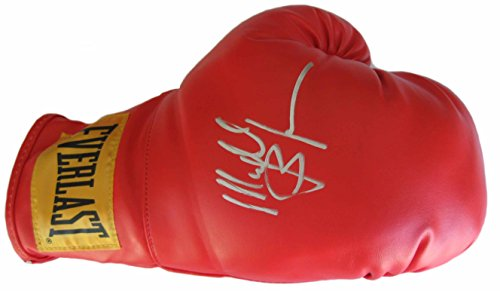 Everlast Ring - Michael Buffer, Ring Announcer, Signed, Autographed, Everlast Boxing Glove,The Glove Comes with a COA and Proof Photo of Michael Signing the Glove-