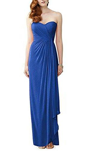 Ikerenwedding Damen Chiffon Prom Dress Herzform Lange Abendkleider ...