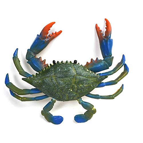 RAYNAG Artificial Plastic Crab,Simulated Sea Animal Home Party Decor Creative Gift ()