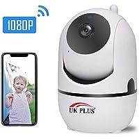 UKPlus Baby monitor 1080P Cloud Wireless IP Camera Intelligent Auto Tracking Of Human Home Security Surveillance CCTV Network Mini Wifi Cam