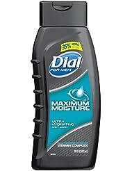 Dial for Men Body Wash, Maximum Moisture, 16 Fluid Ounces