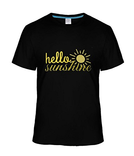 Fatal Decision Men's Hello Sunshine Art Tee shirt black