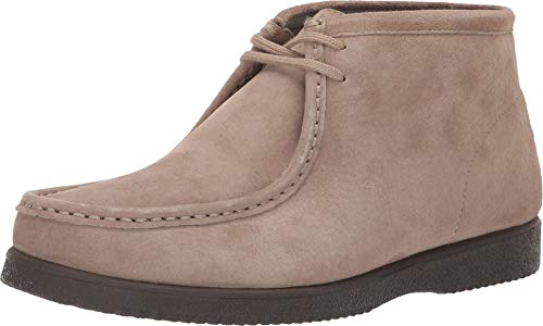 (Hush Puppies Men's Bridgeport Classic Taupe Suede 9.5 D US D (M))