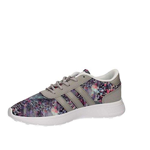 adidas Lite Racer W, Sneaker a Collo Basso Donna, Bianco (Ftwbla/Onicla/Plamat), 36 EU