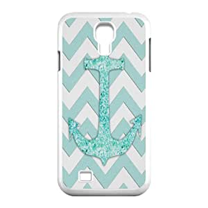 Winfors Anchor Chevron Phone Case For Samsung Galaxy S4 i9500 [Pattern-4]