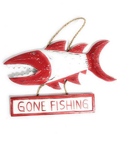 - Tikimaster Gone Fishing Sign 15