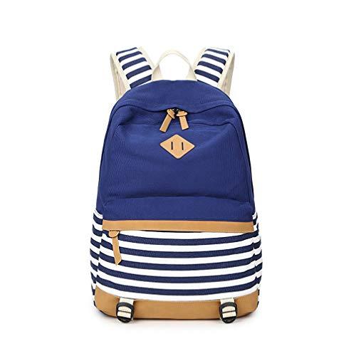 Cute Cat Women Canvas Travel Waterproof Fashion Backpack For Teenage Girls Large Capacity Shoulder School - Fashion Teenage