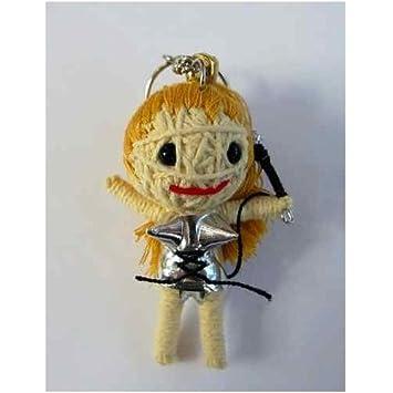 Amazon.com: Madonna Voodoo cadena llavero con muñeca: Office ...