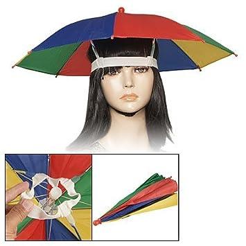 Cinta elástica de coloures DealMux paraguas-sombrero para pesca
