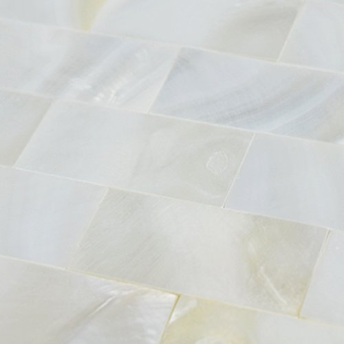 Kitchen Sink Shell 40 (Mother of Pearl Tile Shell Tile Kitchen Backsplash Bathtub Tile Bathroom Wall Tile PEM0081 (Sample))