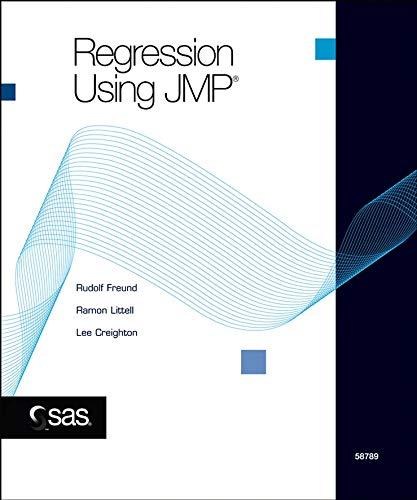 Regression Using JMP