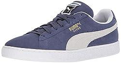 Puma Suede Classic Sneaker, Blue Indigo White, 9.5 M Us