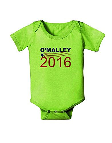 TooLoud Omalley 2016 Baby Romper Bodysuit - Lime Green - 12 ()