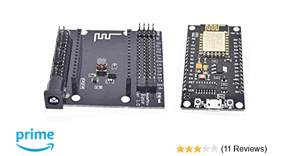 ESP8266 Development Board NodeMCU Lua V3 WiFi with CH340G USB and Base Shield