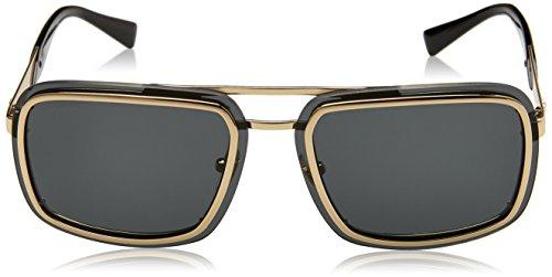 Or Montures Pale Gold 0VE2183 Grey 63 Versace Homme de Lunettes 125287 qBypYHw