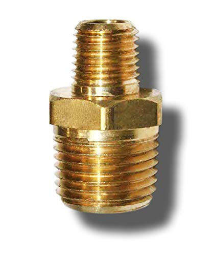 Forged Brass Tee NPT Female X NPT Female X NPT Male 1, 1//8 x 1//8 x 1//8 Brass Pipe Fitting NIGO Industrial Co 3-Way