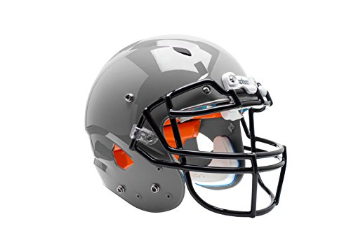 silver football helmet - 4