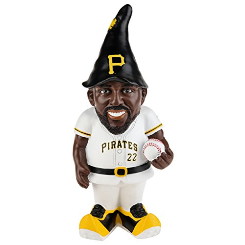 "MLB Pittsburgh Pirates Andrew Mccutchen #22 Resin Player Gnome, 8"", Team Color"