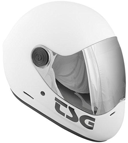 TSG Pass Helmet, White, - Boards Of Surf Different Types