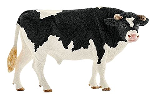 (Schleich North America Holstein Bull Toy)