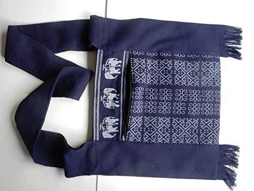 Femme Ariyas Thaishop Pour Centre Bleu Sac Bandoulière 6FUqwz6