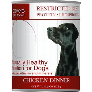 Dave's Restricted Protein Diet, Chicken For Dogs, 13 oz Can (Case of 12 )