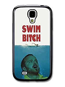 AMAF ? Accessories Breaking Bad Jesse Pinkman Swim Bitch Jaws Funny case for Samsung Galaxy S4