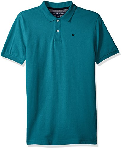 Tommy Hilfiger Boys' Short Sleeve Solid Ivy Polo Shirt