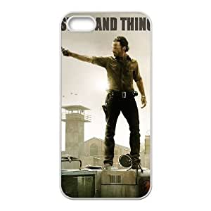 Customized Cover Case with Hard Shell Protection for Iphone 6 plus case with The Walking Dead lxa#31716 plus0