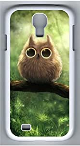Samsung Galaxy S4 I9500 White Hard Case - Owl Tree Galaxy S4 Cases