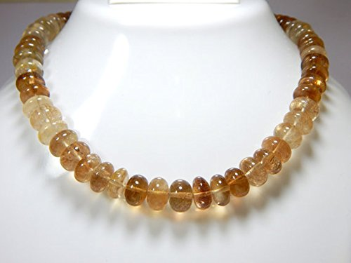 Imperial Topaz Smooth Rondelle Beads /Golden Imperial Topaz Beads 100 Persent Natural Gemstone Size 9.5x9 mm 9
