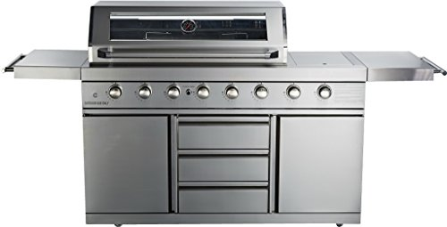 bbq island cover with side burner - 9