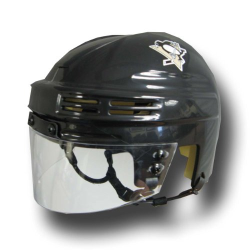 NHL Pittsburgh Penguins Replica Mini Hockey Helmet Bauer Hockey Youth Decal