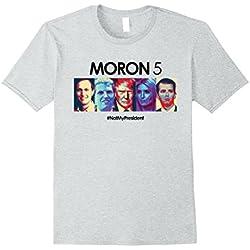 Mens Funny Anti Trump Shirt Hate Donald Tshirt Men Women Democrat XL Heather Grey