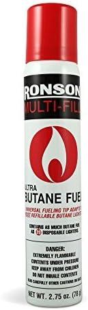 Ronson Multi-Fill Ultra Butane Fuel 2.75oz. (78g) by Ronson