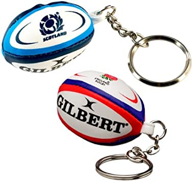 Ireland) - Gilbert Ireland Rugby Ball Key Ring: Amazon.es: Deportes y aire libre