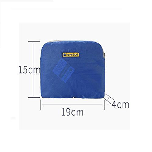 cm L Casual Blue Black Back Travel 43 Folding 20 Daypack gZvUw