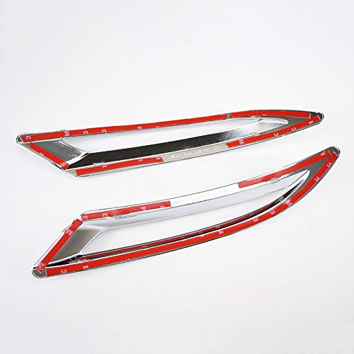 Fits for Ford Fusion Mondeo 2013 2014 2015 2016 2017 2018 Chrome Rear Tail Fog Light Lamp Foglight Cover Trim Decoration Car Styling