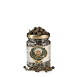 Italian Capers in Salt by Agostino Recca (2.3 ounce)